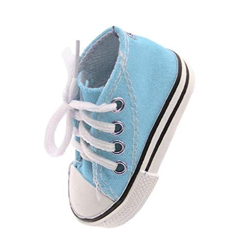 HONG YU Pie de Vehículos Eléctricos Soporte de Bicicletas Plantilla ortopédica de la Motocicleta Plantilla ortopédica de Pata de Cabra Lateral Mini-Zapato Zapatos Llavero (Color : Sky Blue)