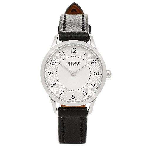 (エルメス) HERMES HERMES 時計 エルメス W041732WW00 CA2.110.220/GNO スリムドゥエルメスTPM レディース腕時計ウォッチ ブラック/シルバー [並行輸入品]