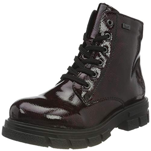 Rieker Damen Z9121 Mode-Stiefel, rot, 38 EU