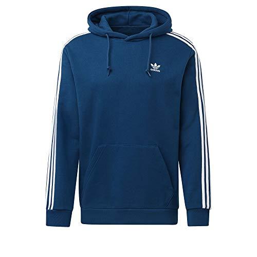 adidas Monogram Hoody (L, Blue)