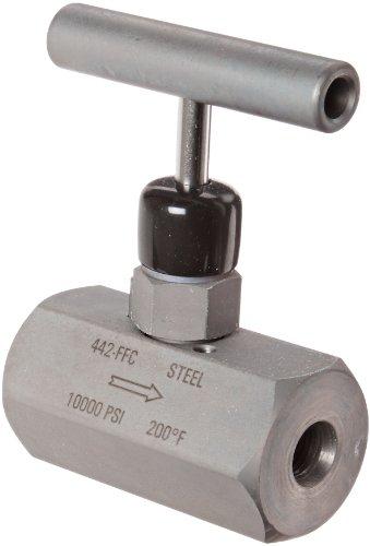 NOSHOK 400 Series Steel Hard Seat Needle Valve, 1/2