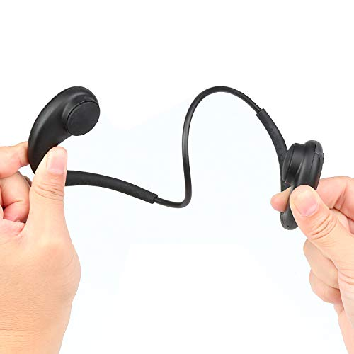vapeonly Wasserdichter MP3-Player zum Schwimmen, 8 GB für Schwimmen, Sport-Headset, Unterwasser-Musik-Player, Schwarz / Grau