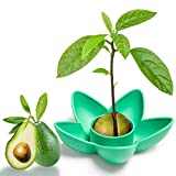 muscccm Avocado Tree Growing Kit Avocado Seed Planting Bowl for Women Kids Mom/Garden Gifts/Kitchen Garden Seed Starter Gift/Indoor Balcony Planting/Valentine's Day Present(Without Seeds)