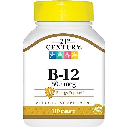 Vitamin B-12 500 mcg 110 Tabs