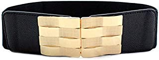 YouBella Jewellery Celebrity Inspired Adjustable Kamarband Waist Belt for Women/Girls (YB_Belt_11) (Black)