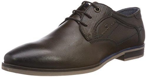 TOM TAILOR 4889103, Zapatos de Cordones Derby Hombre, Braun (Mokka), 44