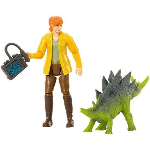 Mattel - Jurassic World Claire e Girosfera Personaggio Protagonista del Film, con Accessorio, FMM06