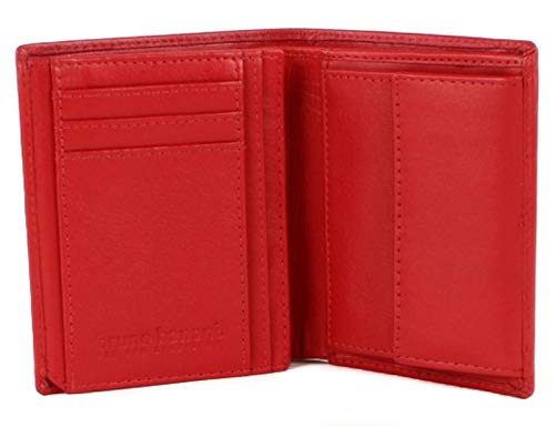 bruno banani Cryptalloy Notenetui Red, Breite 10 cm, Höhe 12 cm, Tiefe 2,5 cm, Red (Rot)