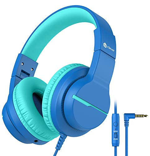 iClever HS19 Kids Headphones Over Ear, HD Stereo Headphones with Microphone...