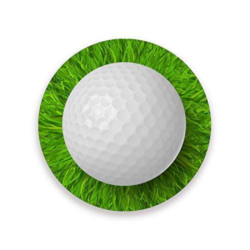 LUPINZ Posavasos de pelota de golf para bebidas, perfecto para cualquier tamaño de gafas de beber evita que los muebles se ensucien y rayen