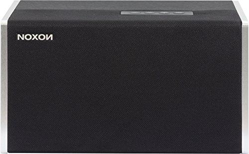 NOXON 15300 NOVA S Wireless Multiroom Lautsprecher (WLAN, Bluetooth, Netzschalter) silber