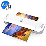 A4 Laminator, ABOX Thermal Laminator Machines for Home Office School Lamination with 12