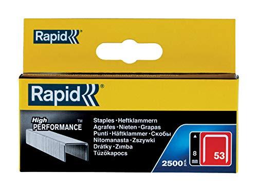Rapid 11857025 Grapas, 053/8 mm, Set de 2500 Piezas