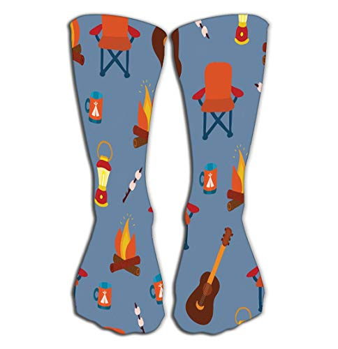 """Compression Socks Women Knee high or Men - Best Stockings for Running, Medical,19.7""""(50cm) camping gadgets outdoor equipment folding chair marshmallow lantern camp fire mug guitar Vintage"""