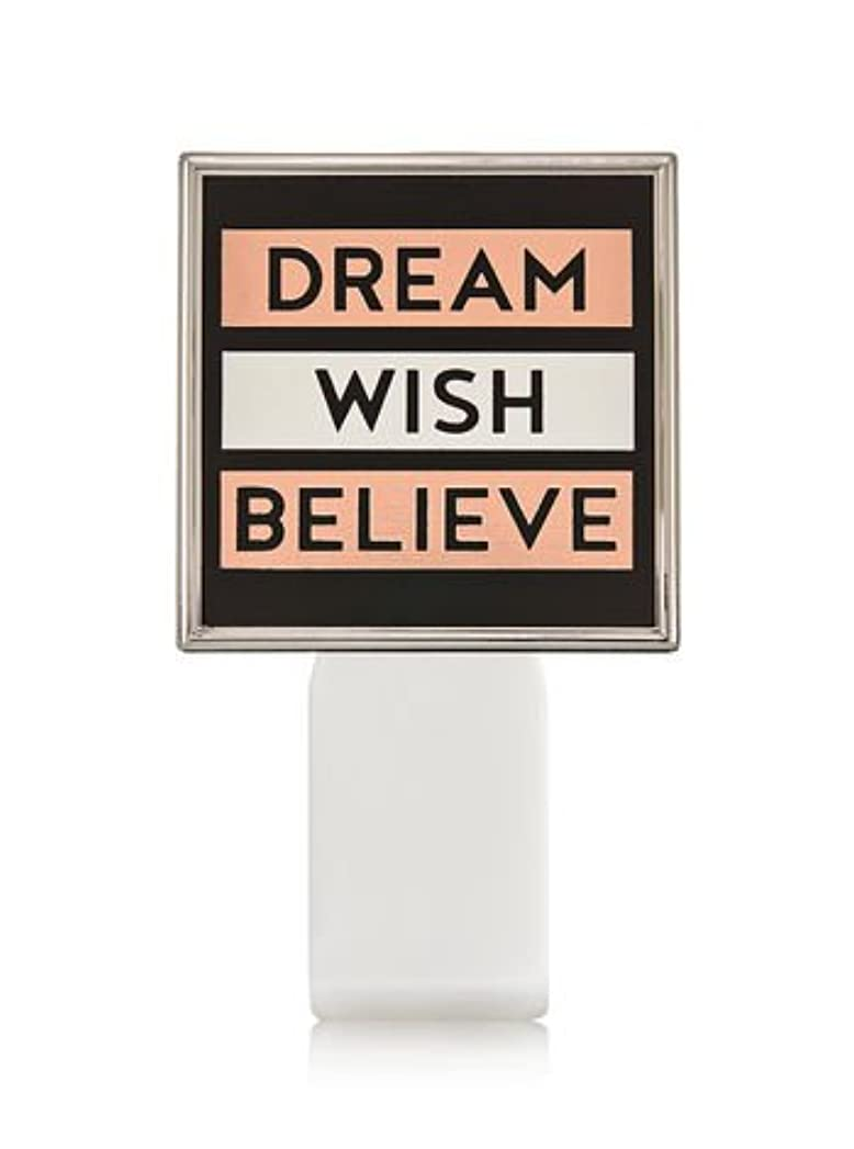 忠実なバウンス【Bath&Body Works/バス&ボディワークス】 ルームフレグランス プラグインスターター (本体のみ) ドリーム ウィッシュ ビリーブ Wallflowers Fragrance Plug Dream Wish Believe [並行輸入品]