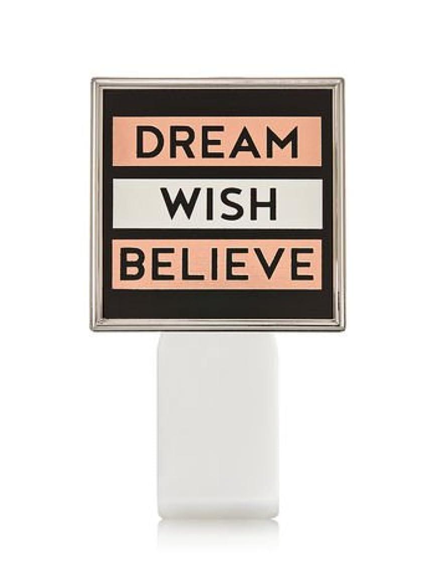 上がる子供達指定する【Bath&Body Works/バス&ボディワークス】 ルームフレグランス プラグインスターター (本体のみ) ドリーム ウィッシュ ビリーブ Wallflowers Fragrance Plug Dream Wish Believe [並行輸入品]