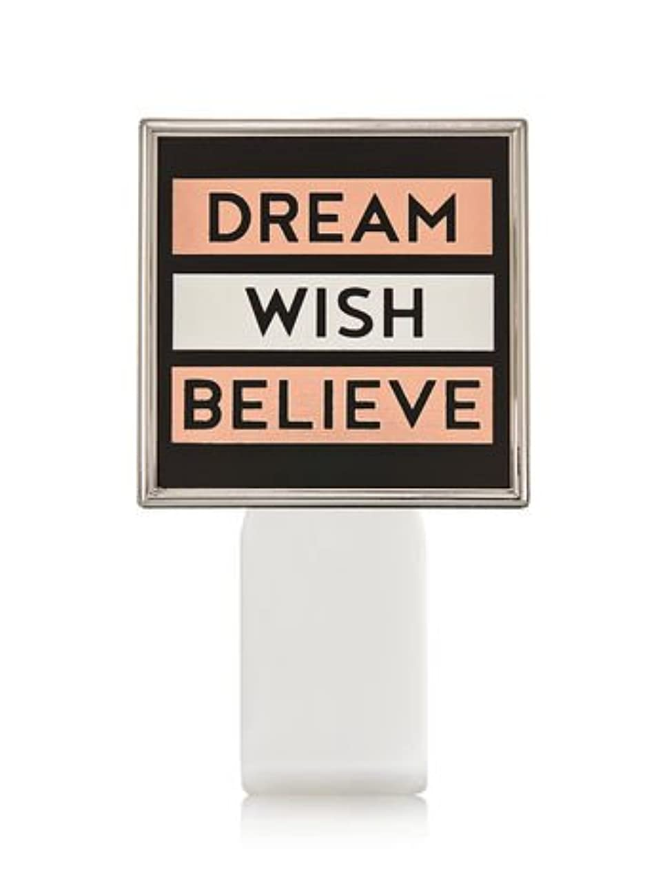 【Bath&Body Works/バス&ボディワークス】 ルームフレグランス プラグインスターター (本体のみ) ドリーム ウィッシュ ビリーブ Wallflowers Fragrance Plug Dream Wish Believe [並行輸入品]