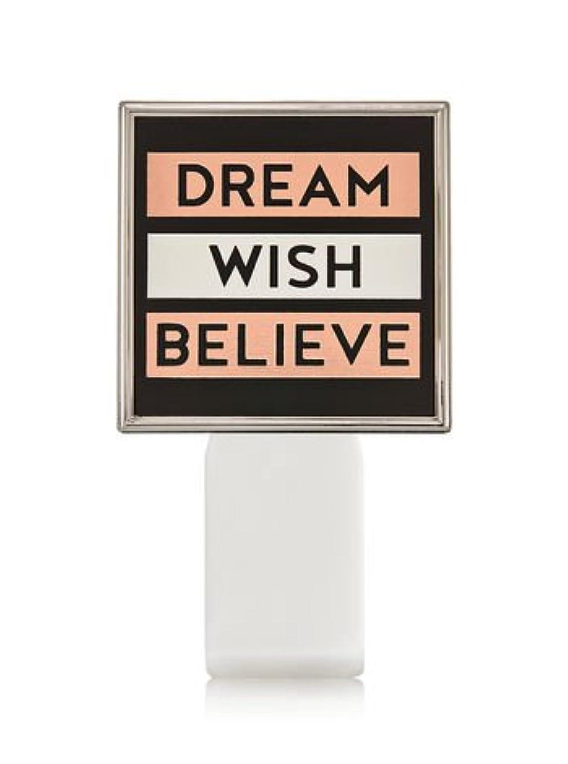 憂鬱ホーム想定【Bath&Body Works/バス&ボディワークス】 ルームフレグランス プラグインスターター (本体のみ) ドリーム ウィッシュ ビリーブ Wallflowers Fragrance Plug Dream Wish Believe [並行輸入品]