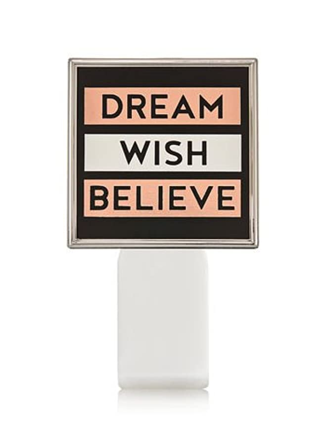 仮定、想定。推測人類ポータブル【Bath&Body Works/バス&ボディワークス】 ルームフレグランス プラグインスターター (本体のみ) ドリーム ウィッシュ ビリーブ Wallflowers Fragrance Plug Dream Wish Believe [並行輸入品]