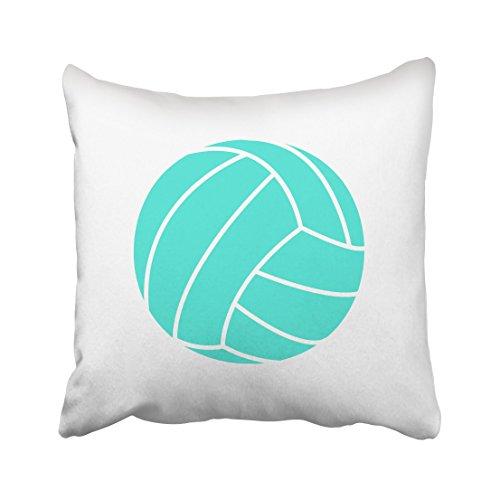 Zierkissenhülle Tarolo dekorative Überwurfkissenbezüge Bezüge Türkisblau Grün Volleyball für Wohnzimmer Sofa usw....