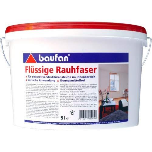 Baufan Flüssige Rauhfaser 5 Liter