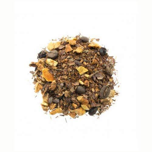 Té Rooibos Dulzura De Café con Cacao, Manzana, Canela - Infusión Rooibos con Café - Grosellas Afrodisíaco - Cantidad 100 gr