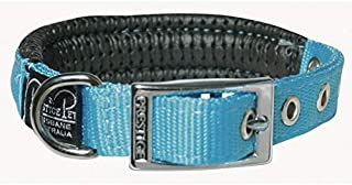 """Prestige Pet Products Soft Padded Collar, 3/4"""" X 18"""" (46Cm), Turquoise"""