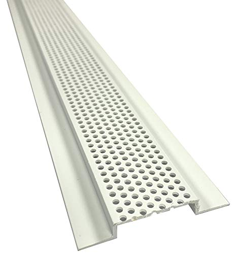 Continuous Soffit Vent - 301,1-3/4' Vented, 8' Length, 10 Pieces per Box, PVC