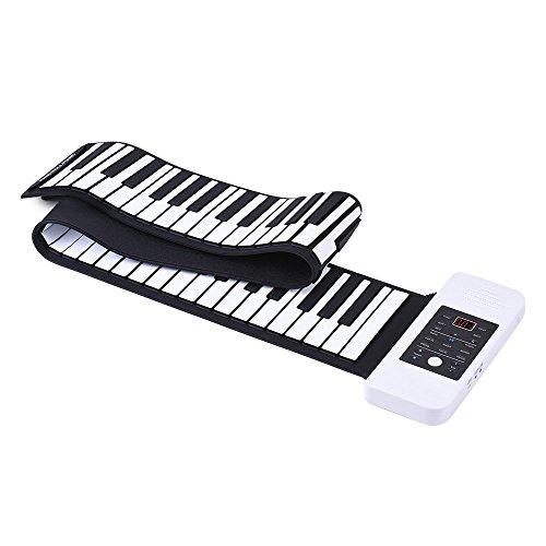 ammoon Silicona Portátil 88 Teclas Rollo Up de Mano Piano Electrónico Teclado...