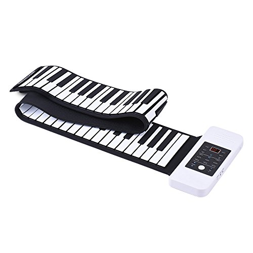 mächtig Ammoon MIDI Keyboard Roll-Up Piano Notebook 61 Tasten USB mit einem flexiblen E-Piano…
