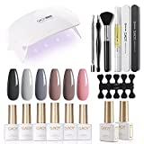 Best Home Gel Nail Kits - GAOY Gel Nail Polish Kit with UV Light Review