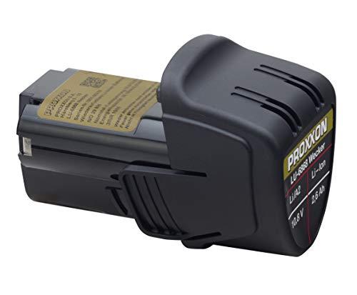 Proxxon Li-Ionen Akku für Micromot-Geräte (10,8 V, 2,6 Ah, Länge 85 mm, Ersatzakku mit Temperaturüberwachung) 29896, mehrfarbig