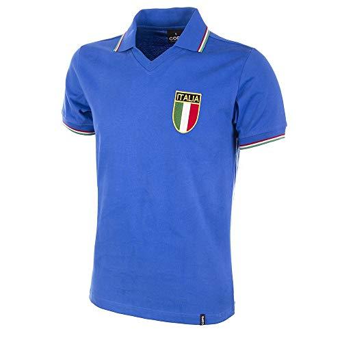 COPA Football - Camiseta Retro Italia Mundial años 1970 (L)