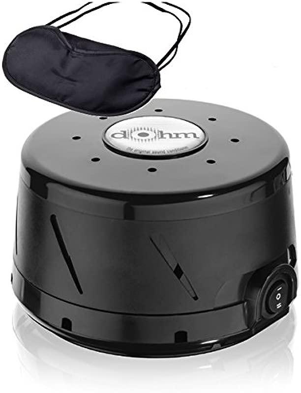 Marpac Dohm DS All Natural Sound Machine Black Zonoz Sleepy Eyez Lightweight Sleeping Mask Bundle