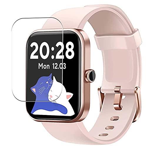 Vaxson 3 Unidades Protector de Pantalla, compatible con CUBOT 206 ID206 1.69' Smart Watch smartwatch [No Vidrio Templado Carcasa Case ] TPU Película Protectora