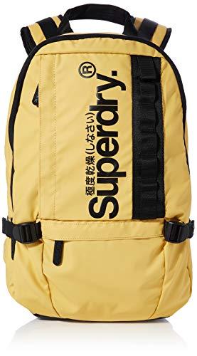 Superdry Herren Slim Line Tarp Rucksack, Gelb (Yellow), 30x20x44 cm