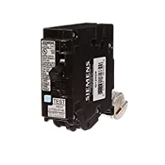 Faster, more cost effective installation to meet code requirements compared to installing an AFCI breaker and GFI receptacle For use on Siemens load centers that accept UL type QFGA2 breakers Siemens exclusive LED trip indicator pinpoints cause of tr...