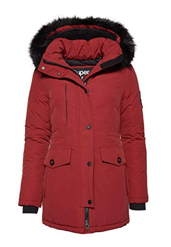 Superdry Damen Ashley Everest Parka rot XL