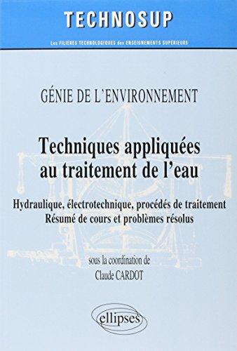 Techniques appliquées au traitement de l'eau