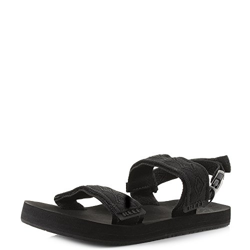 Reef Convertible, Chanclas Hombre, Color Negro, 42 EU
