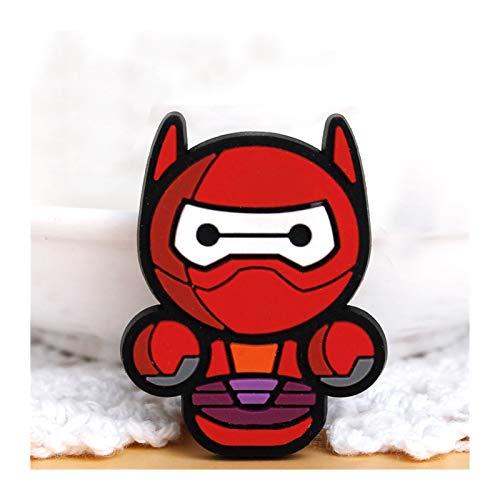 Lmanes de refrigerador 5pcs Marvel Super Hero Frigorífico Etiqueta engomada Creatividad Imán Etiqueta de refrigerador Spider-Man Imán Imán de refrigerador Imanes De Frigorífico Imanes para pizarras bl