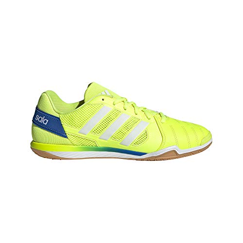 adidas Top Sala, Zapatillas de fútbol Hombre, Amasol/FTWBLA/AZUGLO, 48 EU