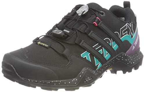 adidas Terrex Swift R2 GTX W, Zapatillas de Hiking Mujer, NEGBÁS/NEGBÁS/MATPUR, 39 1/3 EU
