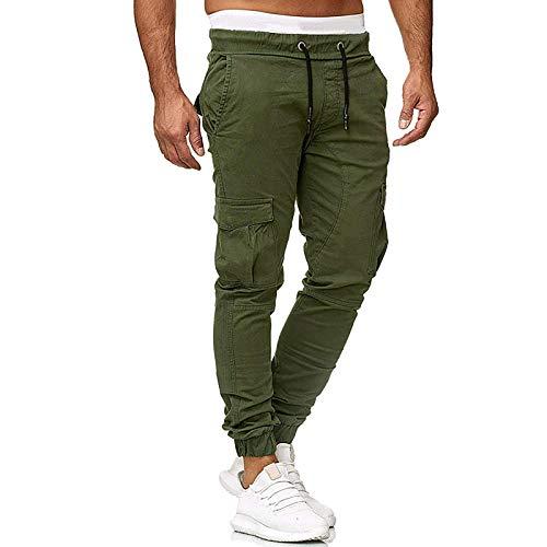 Betory Jeans Diesel Homme Casual Denim Coton Taille ÉLastique Draw String Confortable Travail Jeans Pantalons Cargo Homme Classique Sarouel DéContracté Denim Pantalon