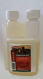 Martin's Permethrin 10% Indoor / Outdoor Use (8 oz Bottle) 28 Day Rresidual Very Good Product. Excellent For The Dollar Price Insect, control de plagas de autoayuda en línea