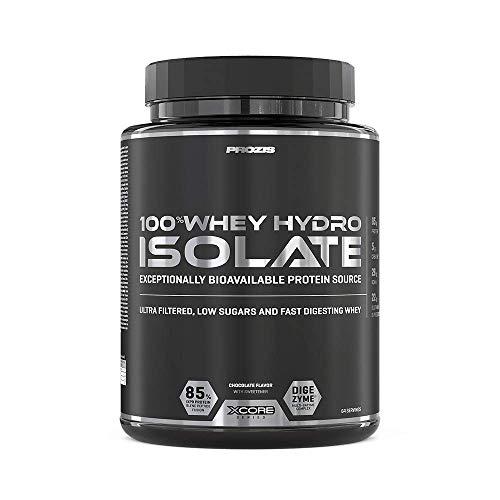 Prozis 100% Whey Hydro Isolate SS Proteine, 2000 g, Cioccolato