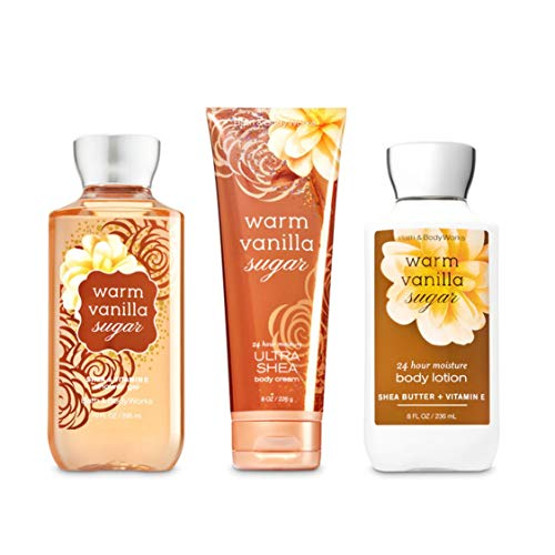 Price comparison product image Bath & Body Works Warm Vanilla Sugar Body Set / Shower Gel,  Body Lotion & Body Cream