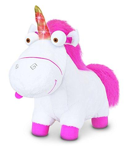 MTW Toys 20268–Unicornio de Peluche con luz y Sonido, Aprox. 30cm