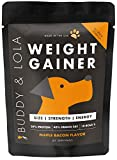 Buddy & Lola Weight Gainer for Dogs - Healthy Weight Gainer Supplement for Dogs - Muscle Builder,...
