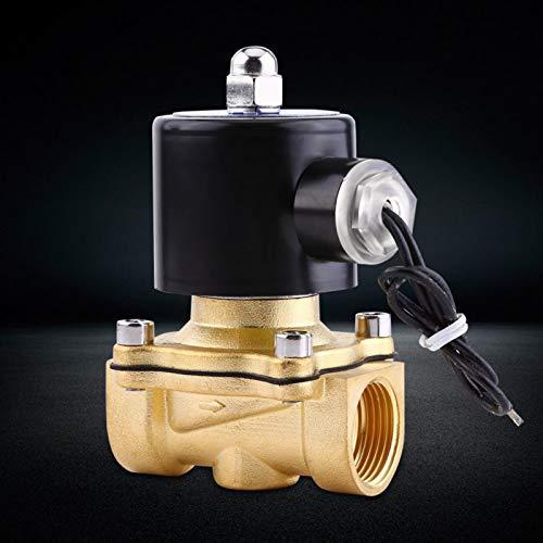 Válvula de solenoide, instalada en el interior horizontalmente Voltaje de CC de...